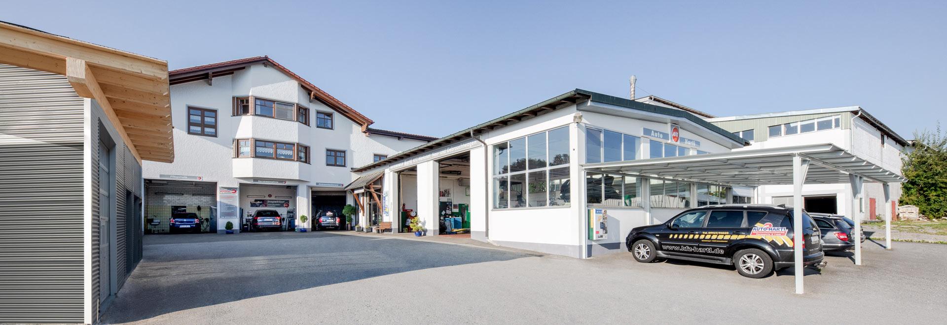 Firma Auto Hartl in Kirchberg im Wald