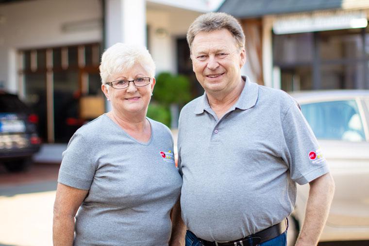 Franz und Christine Hartl