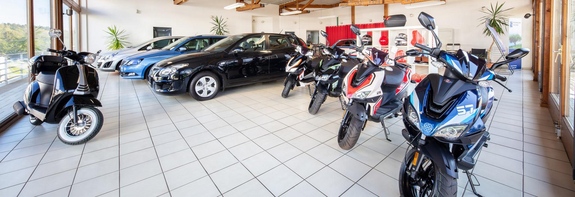 Roller-Verkauf bei Auto Hartl in Kirchberg im Wald