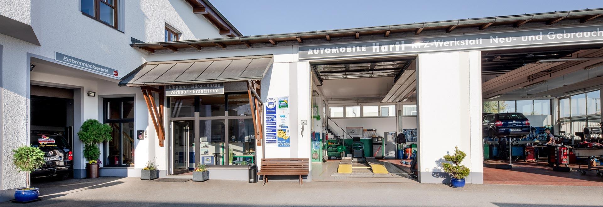 Werkstatt Auto Hartl
